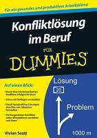 Konfliktl  sung im Beruf f  r Dummies PDF