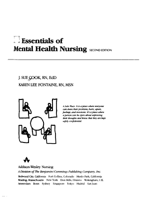 Essentials of Mental Health Nursing PDF