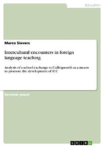 Intercultural encounters in foreign language teaching PDF