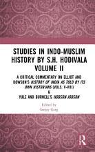 Studies in Indo Muslim History by S H  Hodivala Volume II PDF