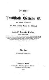 Geschichte des Pontificas Clemens' XIV