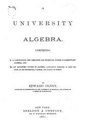 A University Algebra
