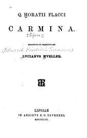 Q.Horatii Flaci Carmina
