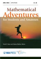 Mathematical Adventures for Students and Amateurs PDF