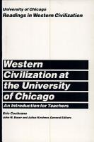 University of Chicago Readings in Western Civilization  An Introduction for Teachers PDF
