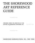 The Shorewood Art Reference Guide