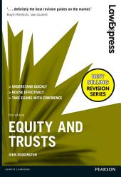 Law Express: Equity and Trusts: Edition 6