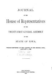Journal of the House of the General Assembly of the State of Iowa