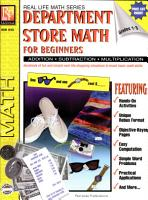 Real Life Math Series  Department Store Math for Beginners PDF