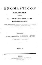 Opera quae supersunt omnia ex recensione Io. Casp. Orellii: Onomasticon