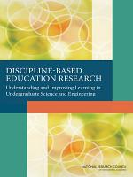 Discipline Based Education Research PDF