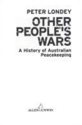 Other People s Wars PDF
