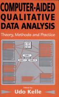 Computer Aided Qualitative Data Analysis PDF