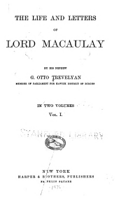 The Life and Letters of Lord Macaulay: Volume 1