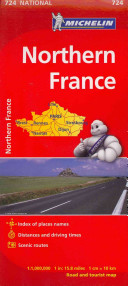 Map Country France; North Map 724