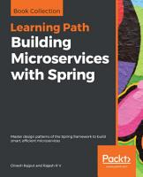 Building Microservices with Spring PDF