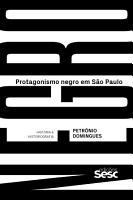 Protagonismo negro em S  o Paulo PDF