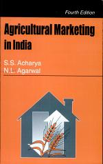 Agricultural Marketing In India, 4/E