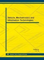 Vehicle  Mechatronics and Information Technologies PDF