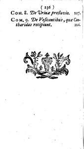 Johannis Freind Commentarii novem de febribus ad Hippocratis de Morbis popularibus libros primum et tertium accomodati