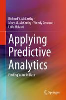 Applying Predictive Analytics PDF