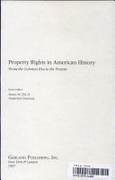 Property Rights in the Colonial Era and Early Republic PDF