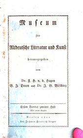 Museum für altdeutsche Literatur und Kunst: Band 1,Ausgabe 2