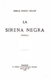 La sirena negra: novela
