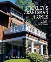 Stickley s Craftsman Homes PDF