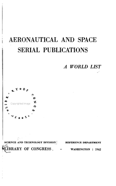 Aeronautical and Space Serial Publications PDF