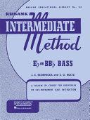 Rubank Intermediate Method - E-Flat Or B-Flat Bass