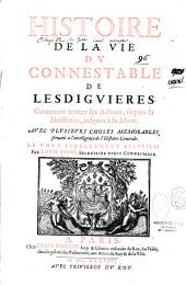 Histoire de la vie du connestable de Lesviguières
