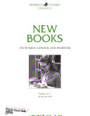 New Books on Women and Feminism PDF