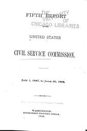 Annual Report of the United States Civil Service Commission: Volume 5