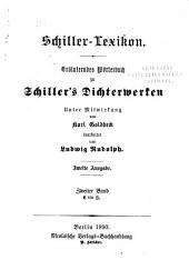 Schiller-lexikon: Band 2