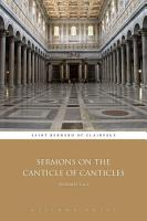 Sermons on the Canticle of Canticles  Volumes 1   2 PDF