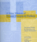 A New Weave of Power, People, and Politics
