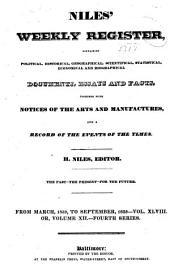 Niles' Weekly Register: Volume 48