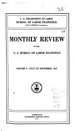 Monthly Review of the U.S. Bureau of Labor Statistics