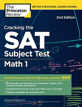 Cracking the SAT Subject Test in Math 1  2nd Edition PDF