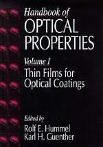 Handbook of Optical Properties
