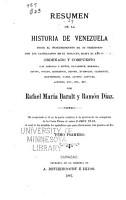 Resumen de la historia de Venezuela   desde el descubrimiento de su territorio por los castellanos en el siglo xv  hasta el ano de 1797 PDF
