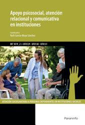 MF1019_2 - Apoyo psicosocial, atención relacional y comunicativa en instituciones