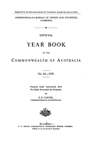 Official Year Book of the Commonwealth of Australia No  44   1958 PDF