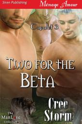 Two for the Beta [Capulet 3]