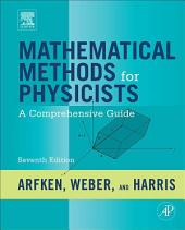 Mathematical Methods for Physicists: A Comprehensive Guide, Edition 7