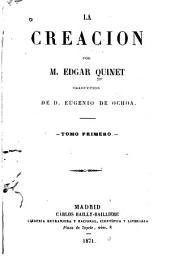 La creación: Volumen 1
