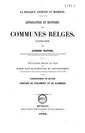 Géographie et histoire des communes belges: Volume7