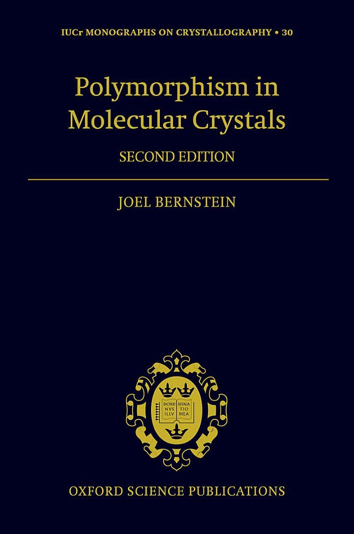 Polymorphism in Molecular Crystals 2e