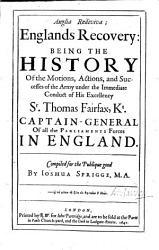 Anglia Rediviva   Englands Recovery PDF